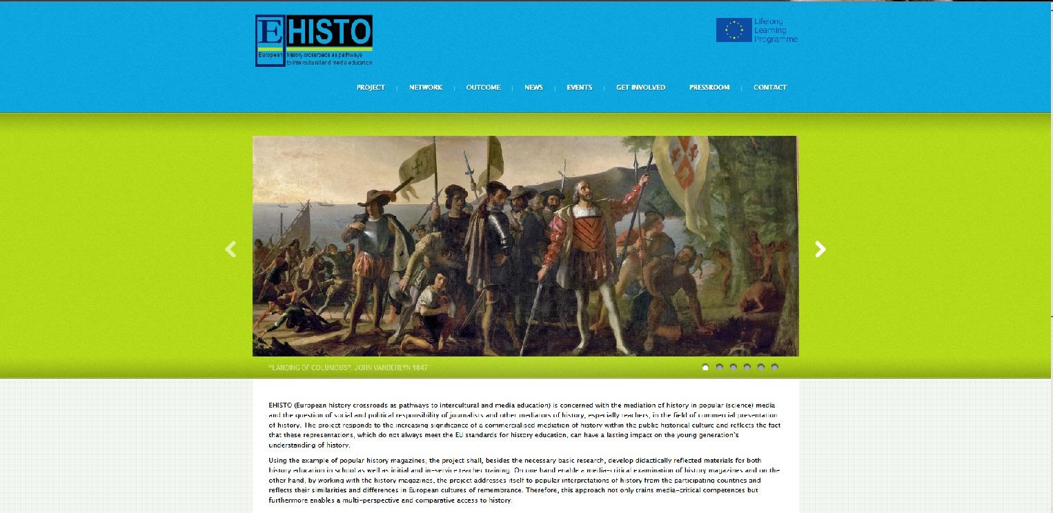 EHISTO_Website